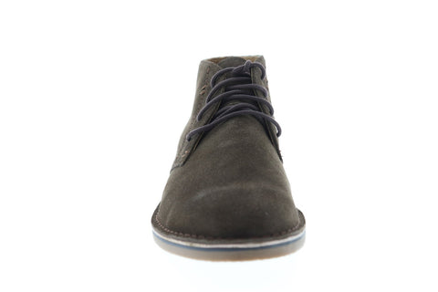 Florsheim Gannon Chukka Boot Mens Brown Suede Casual Dress Chukkas Shoes