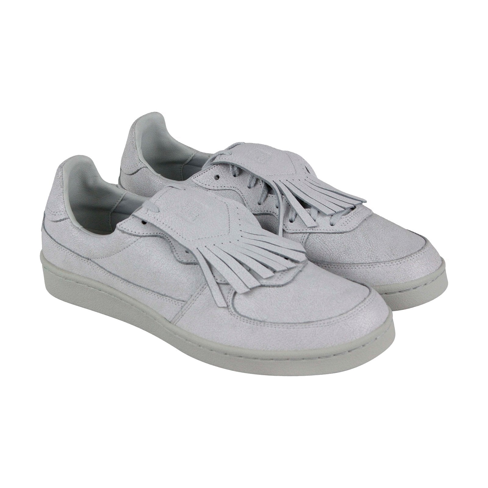 new style 0c911 e3bd5 Onitsuka Tiger Gsm Ex Mens White Leather Lace Up Sneakers Shoes