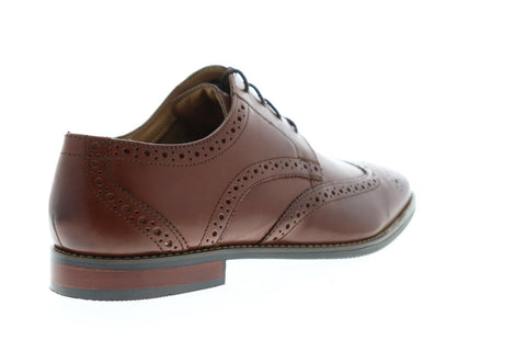 Florsheim Matera II Wing 11878-200 Mens Brown Leather Dress Oxfords Shoes