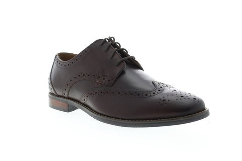 Florsheim Matera II Wing 11878-202 Mens Brown Leather Dress Lace Up Oxfords Shoes