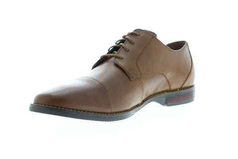 Florsheim Matera II Cap 11879-216 Mens Brown Leather Dress Lace Up Oxfords Shoes