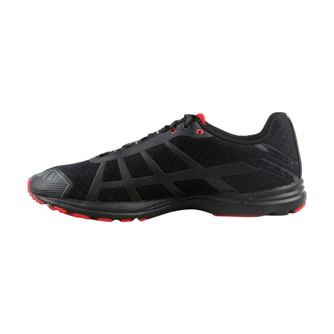 Salming Distance D4 Mens Black Mesh Athletic Lace Up Running Shoes