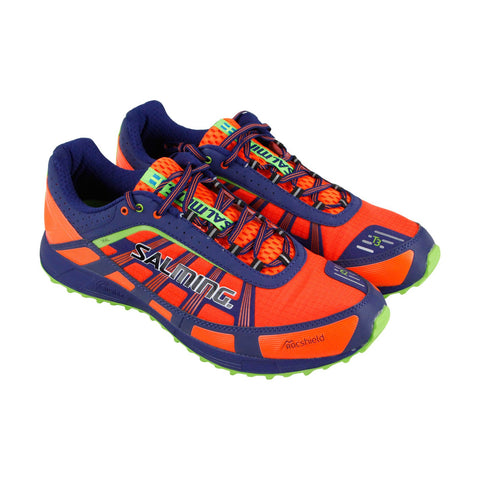 Salming Trail T3 Mens Orange Textile & Synthetic Athletic Running Shoes