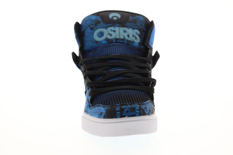 Osiris Clone 1322 2593 Mens Blue Synthetic Lace Up Athletic Skate Shoes