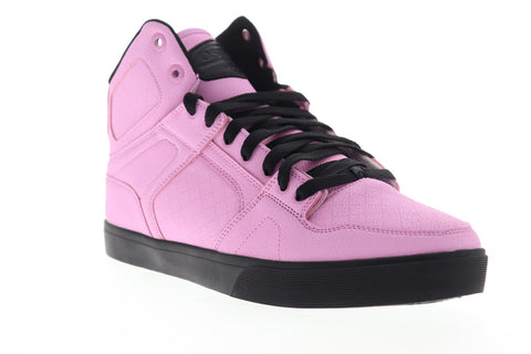 Osiris Nyc 83 Vlc Dcn 1336 2705 Mens Pink Synthetic Lace Up Athletic Skate Shoes