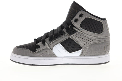 Osiris Nyc 83 Clk 1343 2704 Mens Gray Synthetic Lace Up Athletic Skate Shoes