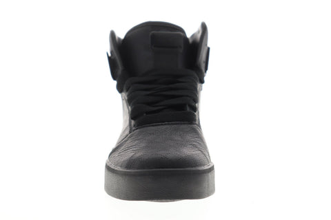 Osiris Cultur 1350 480 Mens Black Leather Lace Up Athletic Skate Shoes