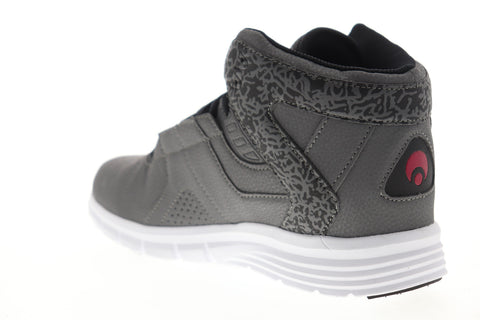 Osiris Equinox 1354 2560 Mens Gray Mid Top Lace Up Skate Sneakers Shoes