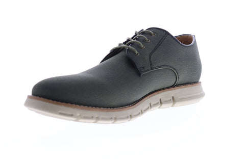 GBX Hurst 136325 Mens Green Canvas Casual Lace Up Oxfords Shoes