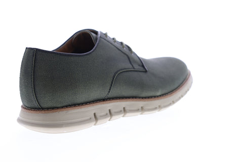 GBX Hurst 136325 Mens Green Canvas Low Top Lace Up Plain Toe Oxfords Shoes