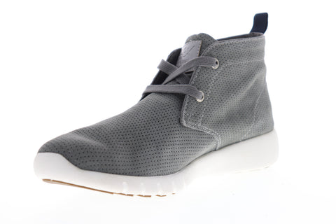 GBX Amaro 137628 Mens Gray Nubuck Casual Fashion Sneakers Shoes