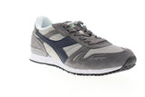 Diadora Titan II 158623-C8240 Mens Gray Suede Lace Up Low Top Sneakers Shoes