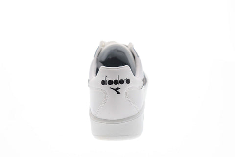 Diadora B.Elite 170595-C1880 Mens White Casual Low Top Sneakers Shoes