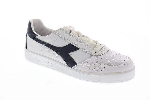 Diadora B.Elite 170595-C5943 Mens White Casual Low Top Sneakers Shoes