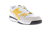 Diadora Rebound Ace Beta 175499-C8224 Mens White Suede Low Top Sneakers Shoes