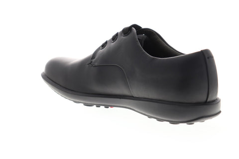 Camper Atom Work 18637-001 Mens Black Leather Casual Lace Up Oxfords Shoes