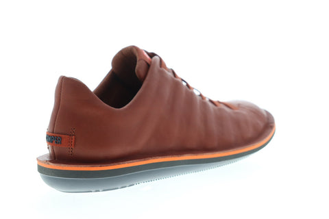 Camper Beetle 18751-071 Mens Brown Leather Lace Up Low Top Sneakers Shoes