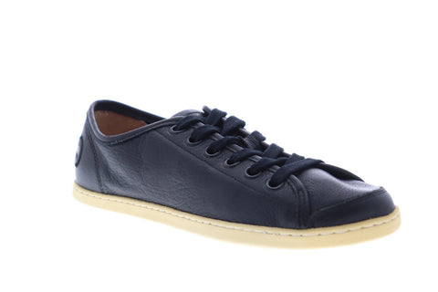 Camper Uno 18785-015 Mens Black Leather Lace Up Low Top Sneakers Shoes