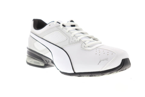 Puma Tazon 6 Fm Mens White Synthetic Athletic Lace up Running Shoes