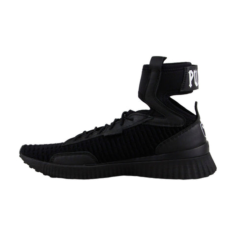 Puma Fenty By Rihanna Trainer Mid X Rihanna Womens Black Lace Up Sneakers Shoes