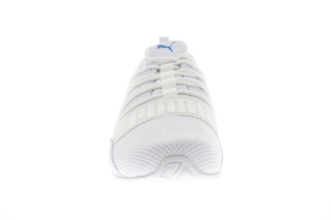Puma Cell Regulate Woven Mens White Textile Athletic Lace Up Running Shoes
