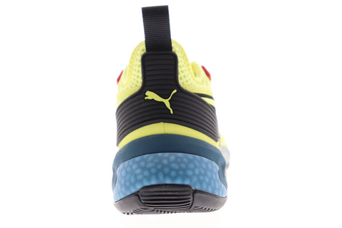 Puma Uproar Spectra 19297903 Mens Yellow Synthetic Athletic Basketball Shoes