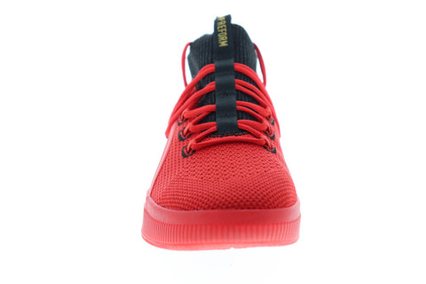 Puma Clyde Court Reform Meek 19346101 Mens Red Athletic Basketball Shoes