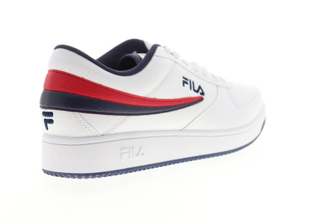 Fila A Low 1CM00551-125 Mens White Synthetic Lace Up Low Top Sneakers Shoes