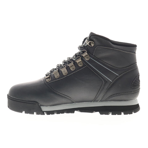 World Of Troop Expo Boot 1HM00048-004 Mens Black Leather Casual Dress Boots