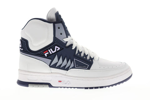 Fila Tourissimo Mens White Synthetic High Top Lace Up Sneakers Shoes