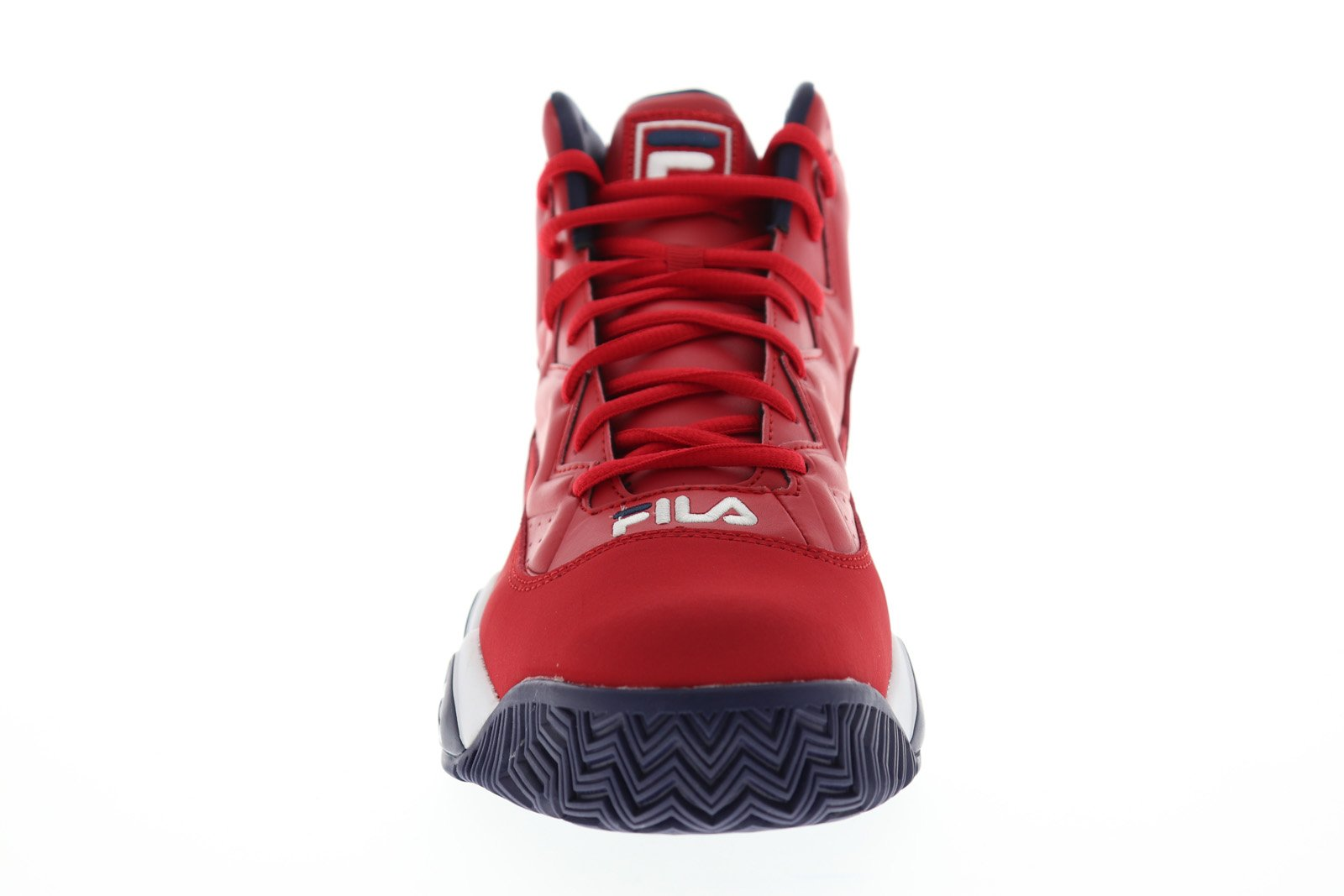 Fila MB 1BM00510 616 Mens Red High Top Lace Up Athletic Gym