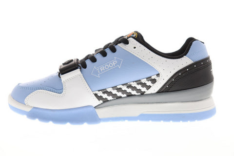 World Of Troop Cobra Light Mens Blue Synthetic Low Top Sneakers Shoes