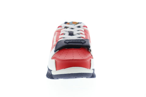 World Of Troop Cobra Mens Red Synthetic Low Top Lace Up Sneakers Shoes