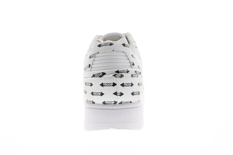 World Of Troop Destroyer Low Ap Mens White Synthetic Low Top Sneakers Shoes