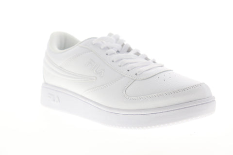 Fila A Low 1CM00551-100 Mens White Lace Up Lifestyle Sneakers Shoes
