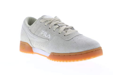 Fila Original Fitness Ripple Mens Gray Suede Low Top Lace Up Sneakers Shoes