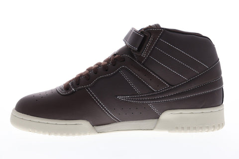 fila f13 ts 1fm00012212 mens brown leather casual high
