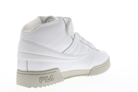 Fila F-13 Ripple Mens White Synthetic Low Top Lace Up Sneakers Shoes