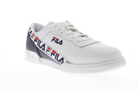 Fila Original Fitness Tape Mens White Synthetic Low Top Sneakers Shoes