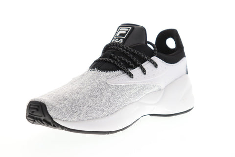 Fila Mindbreaker Mens White Textile Low Top Lace Up Sneakers Shoes
