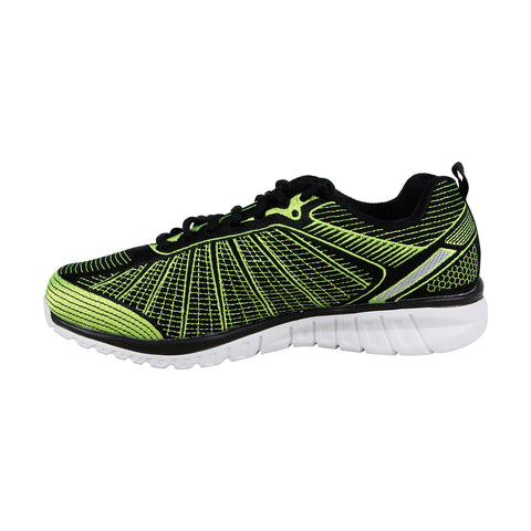 Fila Speedweave Run II Mens Green Textile Athletic Lace Up Running Shoes