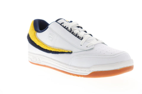 Fila Original Tennis Varsity Mens White Synthetic Low Top Sneakers Shoes