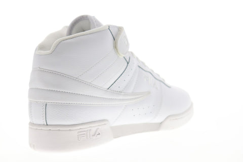 Fila F-13 V Mens White Synthetic Low Top Lace Up Sneakers Shoes