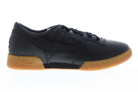 fila original fitness premium mens black casual low top