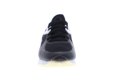 Fila Overpass 2.0 Fusion Mens Black Mesh Low Top Lace Up Sneakers Shoes
