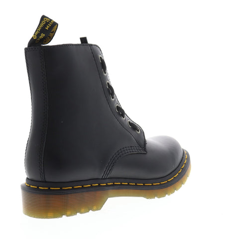 Dr. Martens 1660 Pascal Front Zip Womens Black Casual Dress Boots Shoes