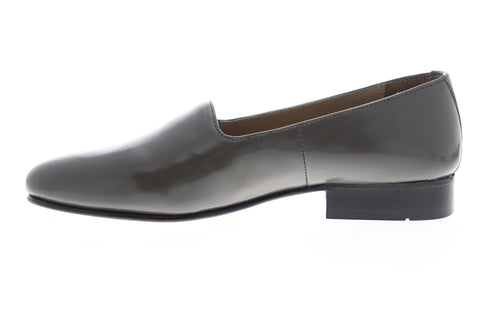 Giorgio Brutini Crawley 244378 Mens Gray Leather Slip On Casual Loafers Shoes