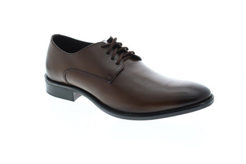 Giorgio Brutini Alton Mens Brown Leather Casual Dress Lace Up Oxfords Shoes