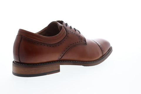 Stacy Adams Flemming Cap Toe 25304-221 Mens Brown Leather Dress Oxfords Shoes