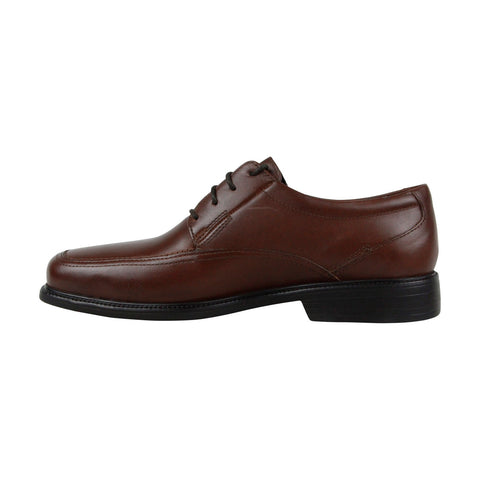 Bostonian Ipswich 26025886 Mens Brown Leather Casual Lace Up Oxfords Shoes